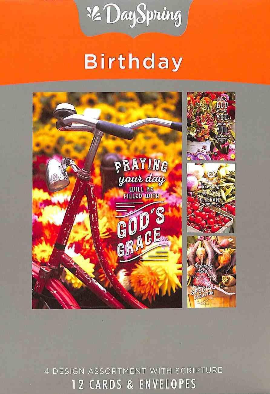 Boxed Cards Birthday: Farmers Market (Ncv) Box