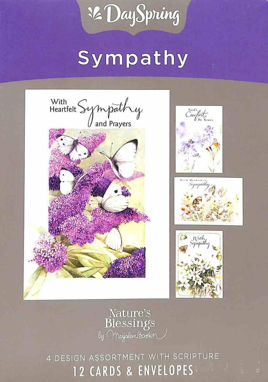 Boxed Cards Sympathy: Marjolein Bastin Box