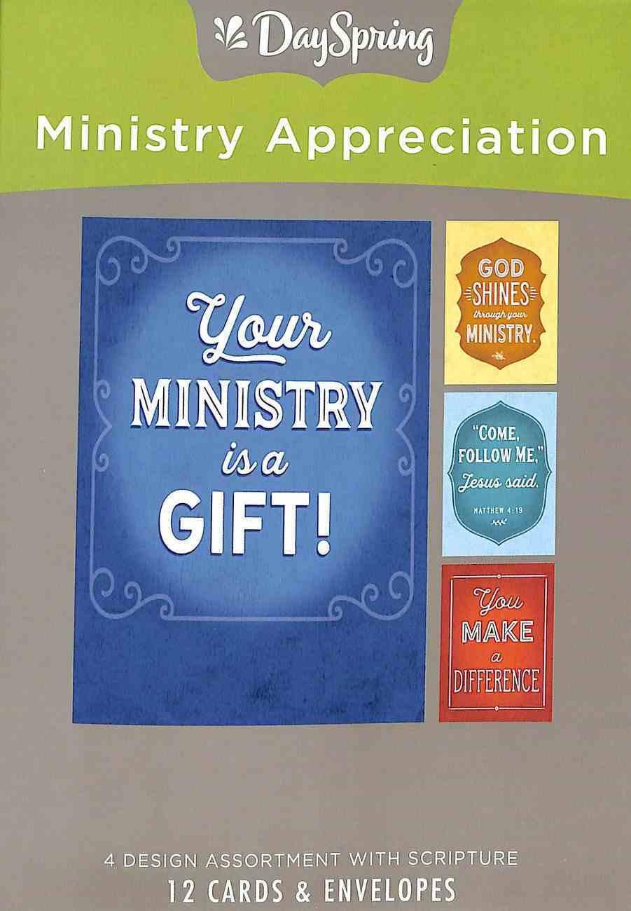 Boxed Cards Ministry Appreciation: Service Box