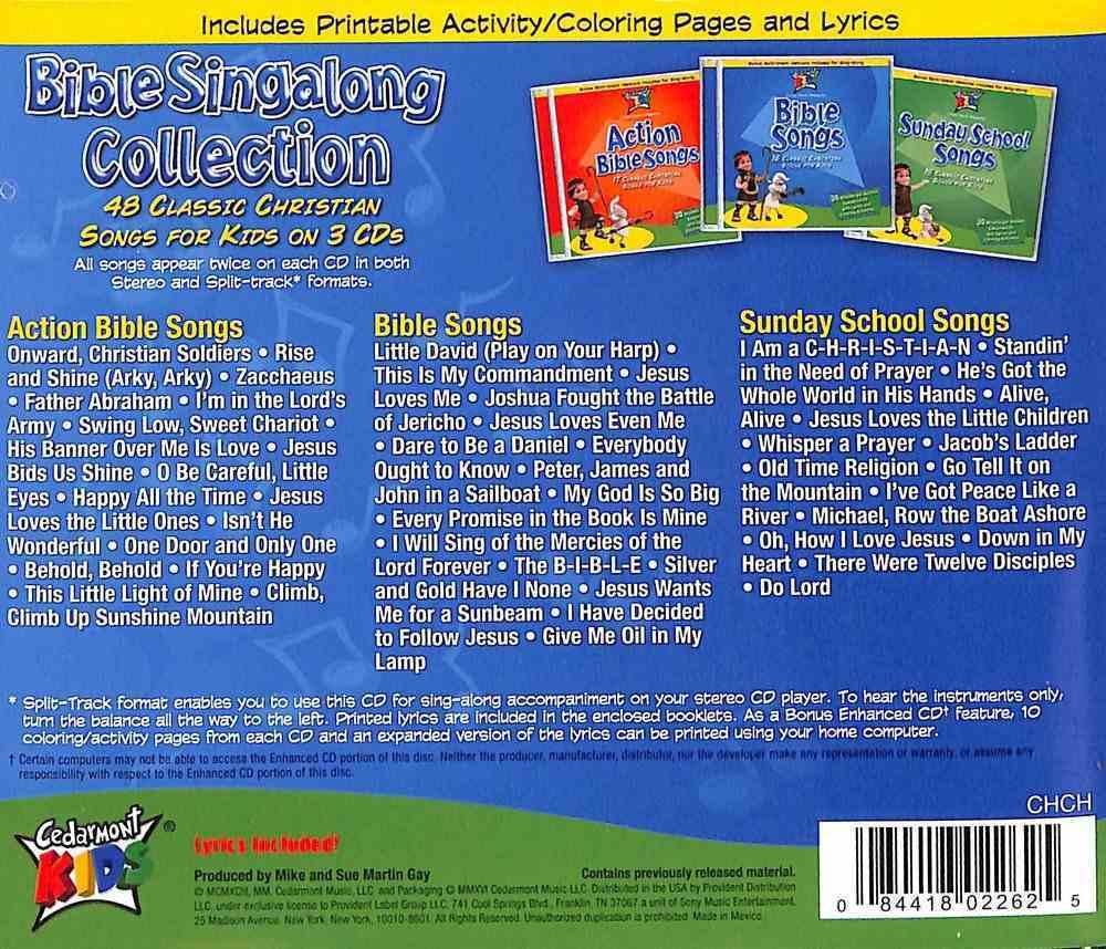 Cedarmont Kids: Bible Singalong Collection (Kids Classics Series) CD