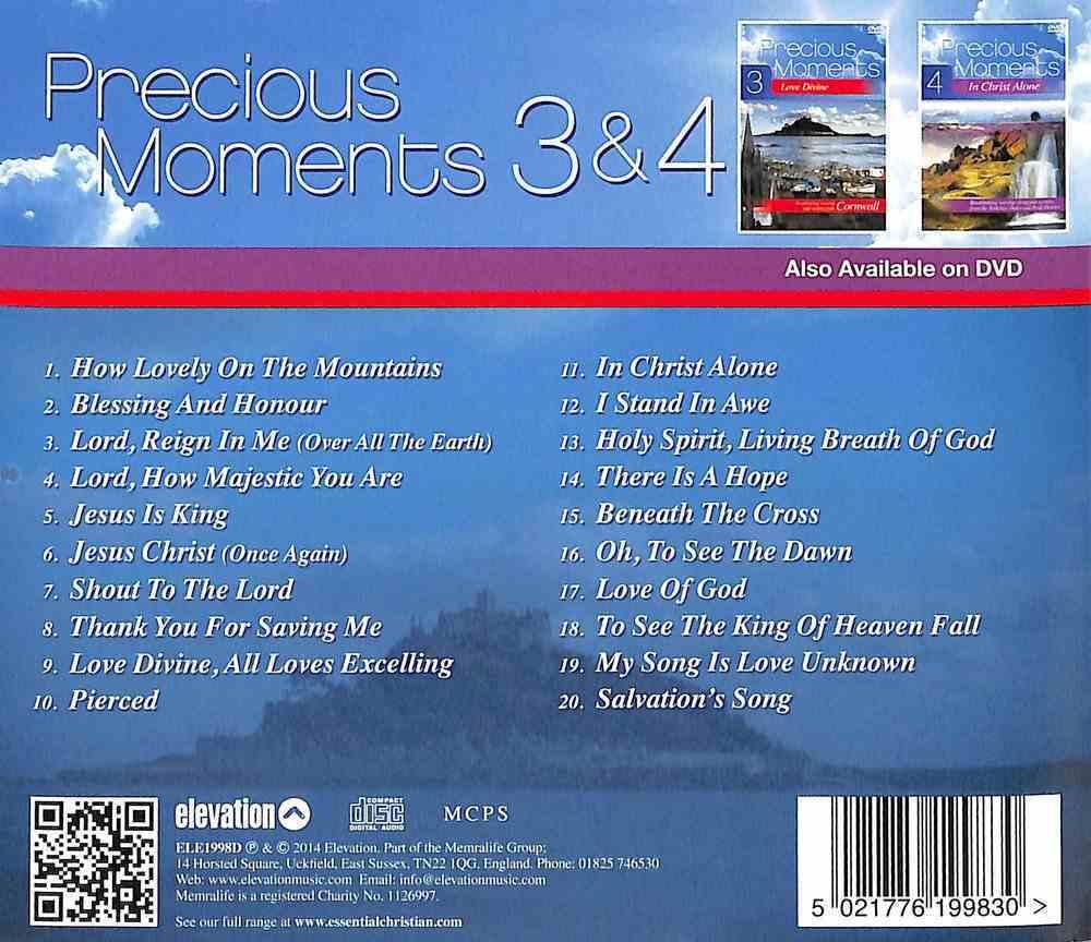 Precious Moments 3 & 4 Double CD: Love Divine/In Christ Alone CD