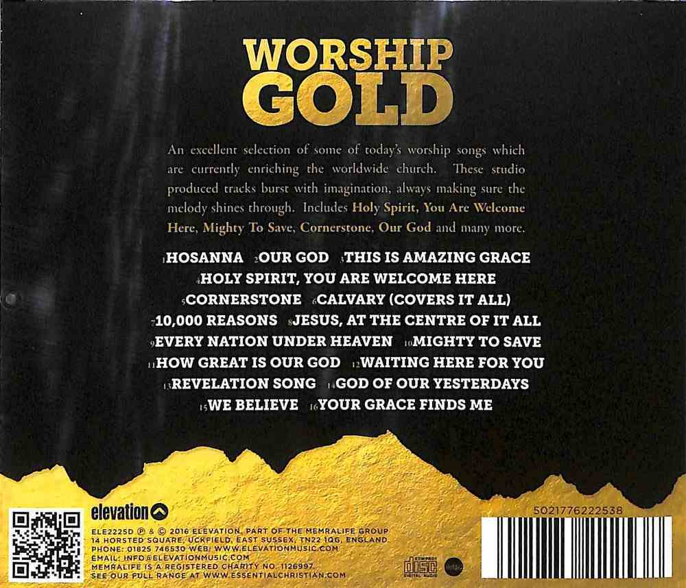 Worship Gold: 16 of Today's Favourite Worship Songs CD