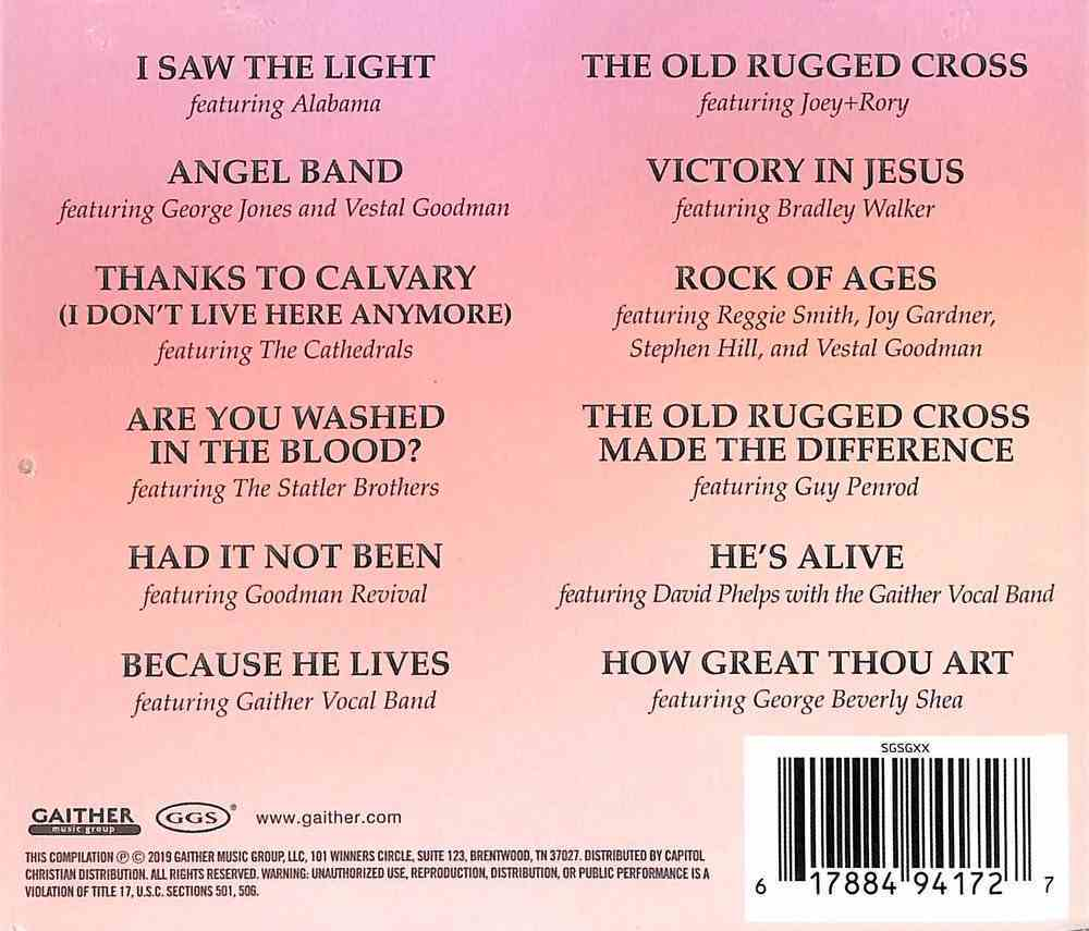 Because He Lives CD