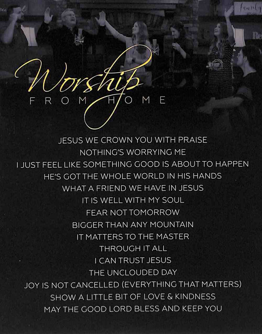 Worship From Home DVD
