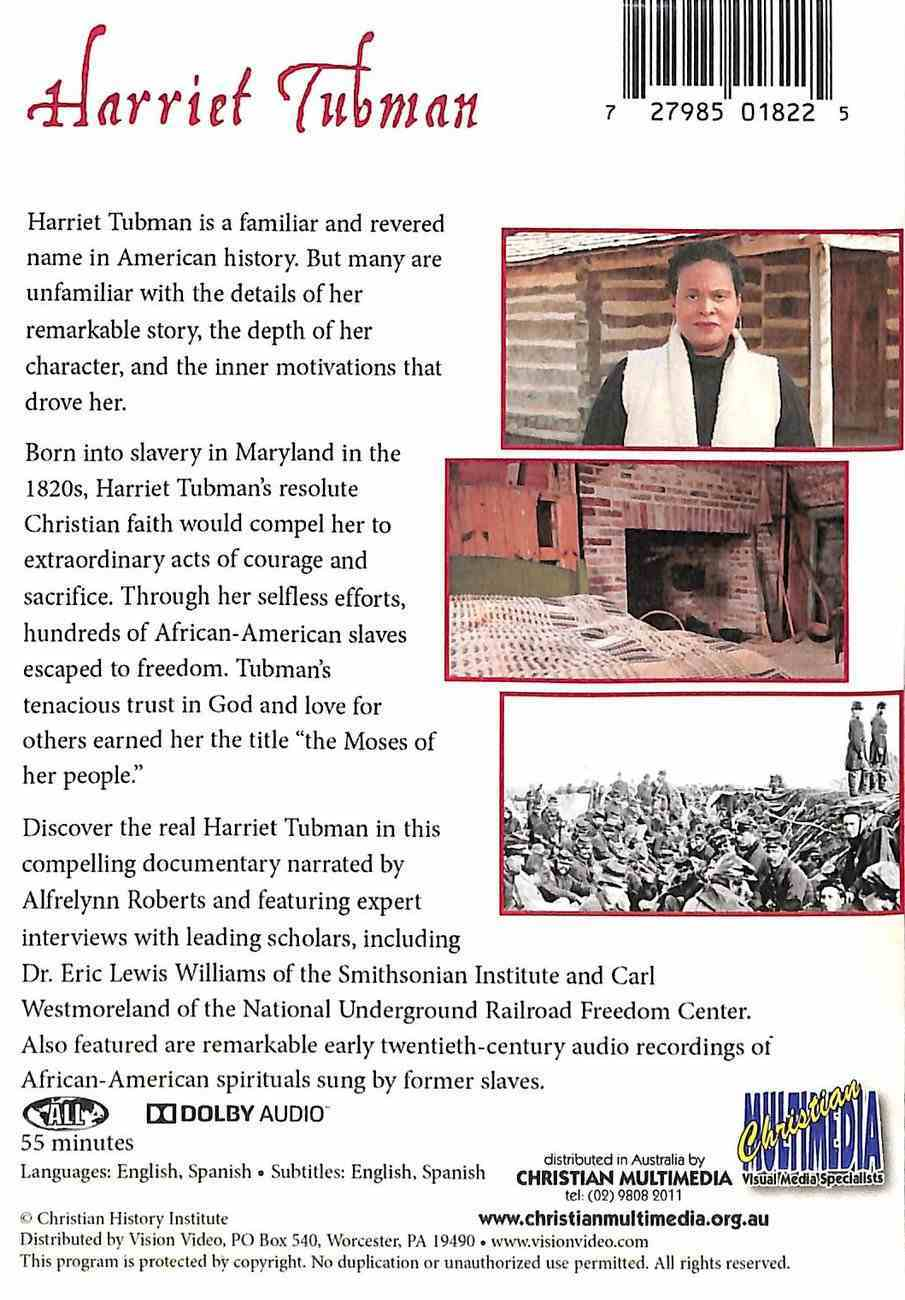 Harriet Tubman: They Called Her Moses DVD