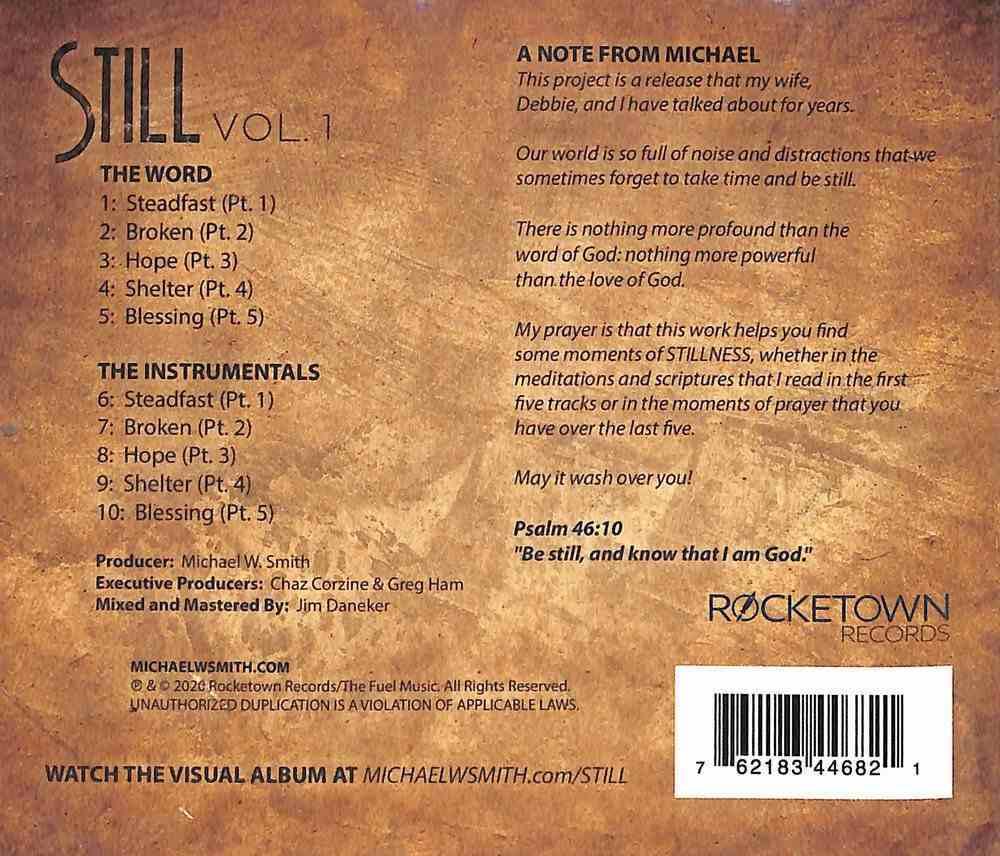 Still: Vol. 1 CD