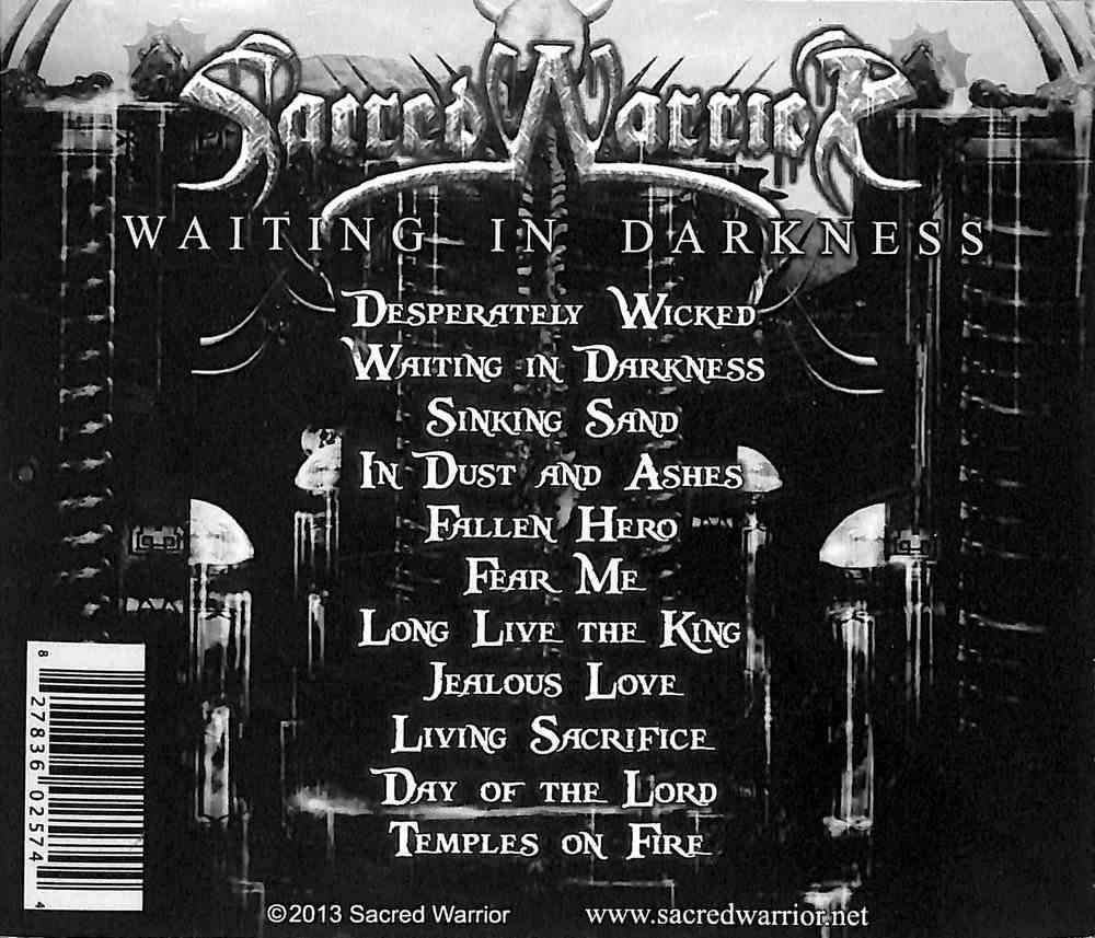 Waiting in Darkness CD
