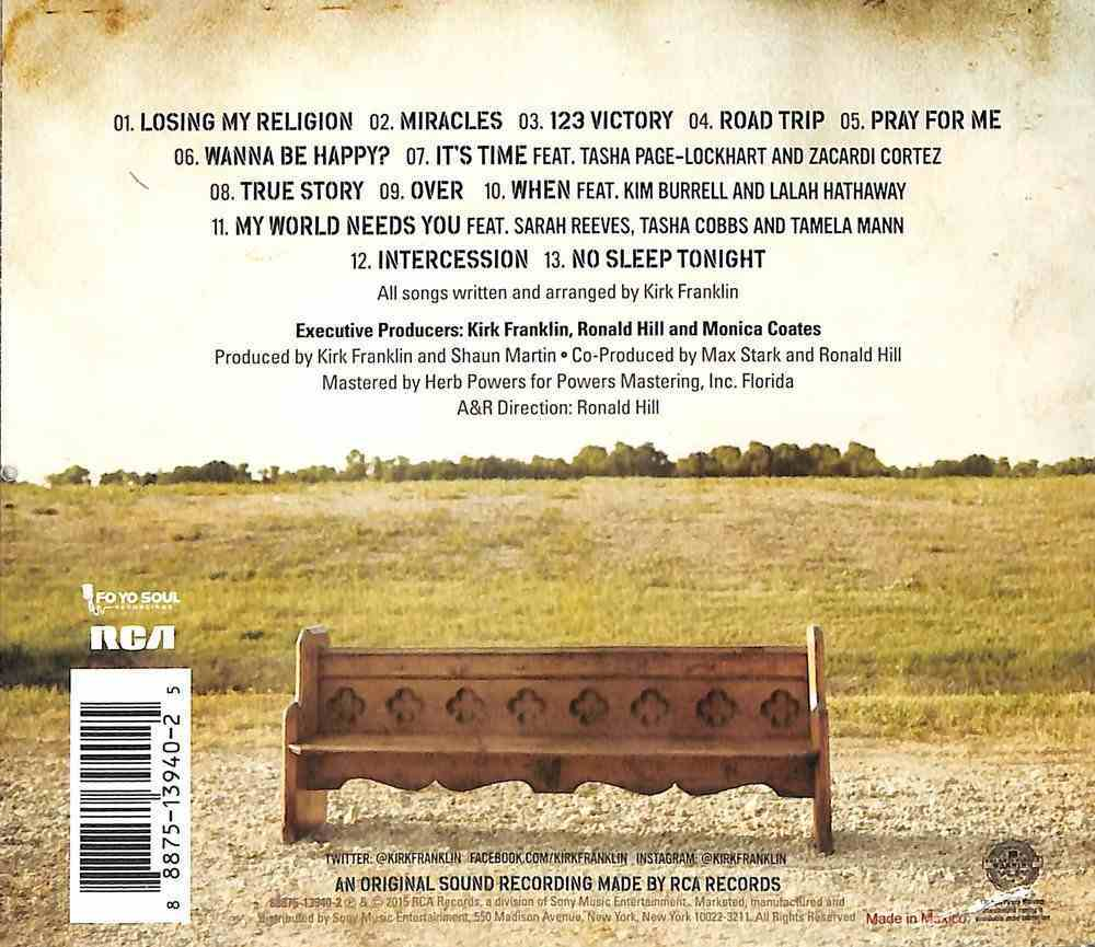 Losing My Religion CD