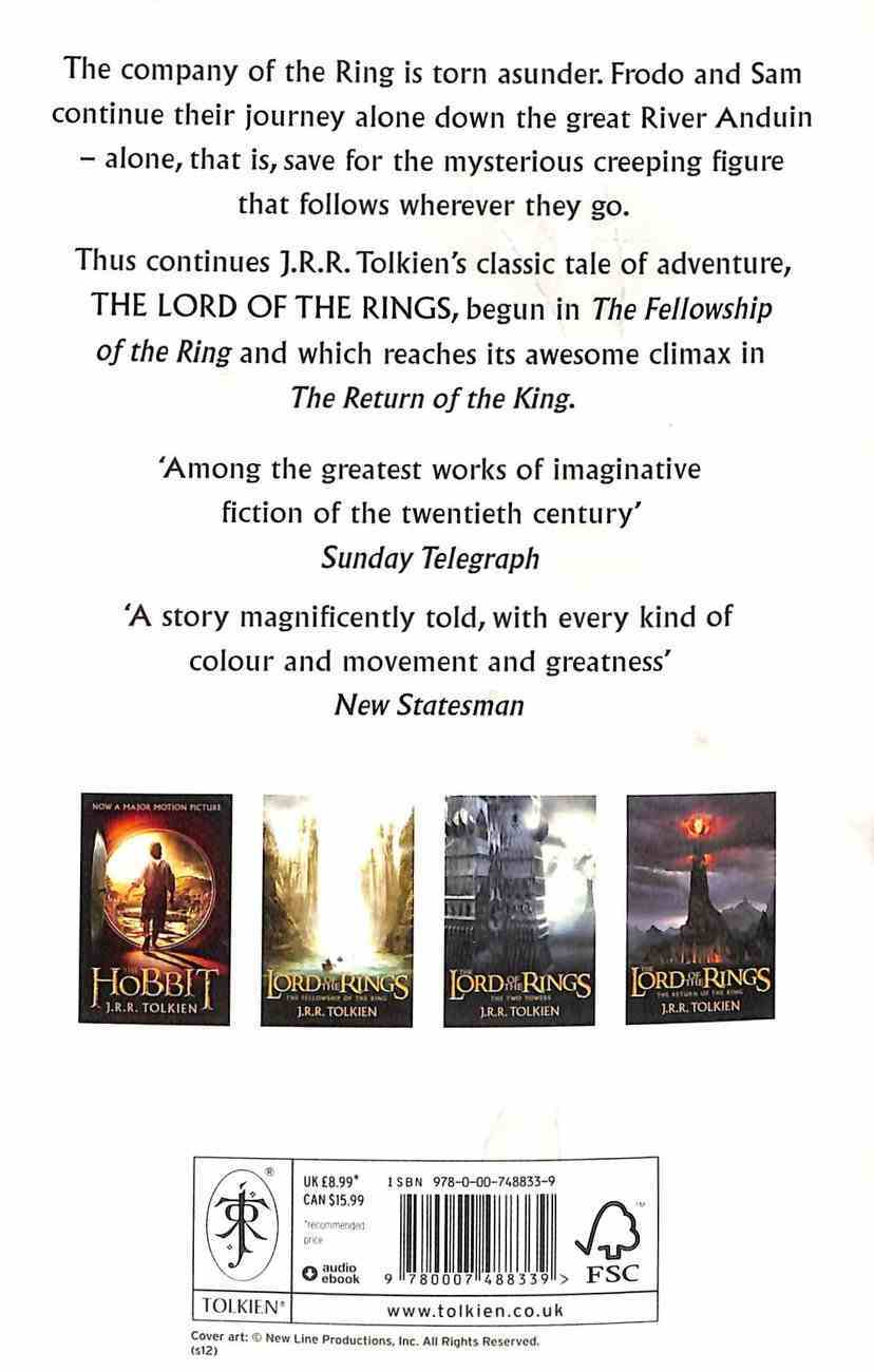 Lord of the Rings #02: The Two Towers Paperback