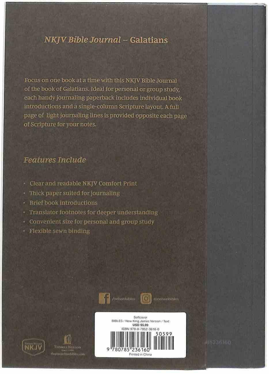 NKJV Bible Journal - Galatians Paperback