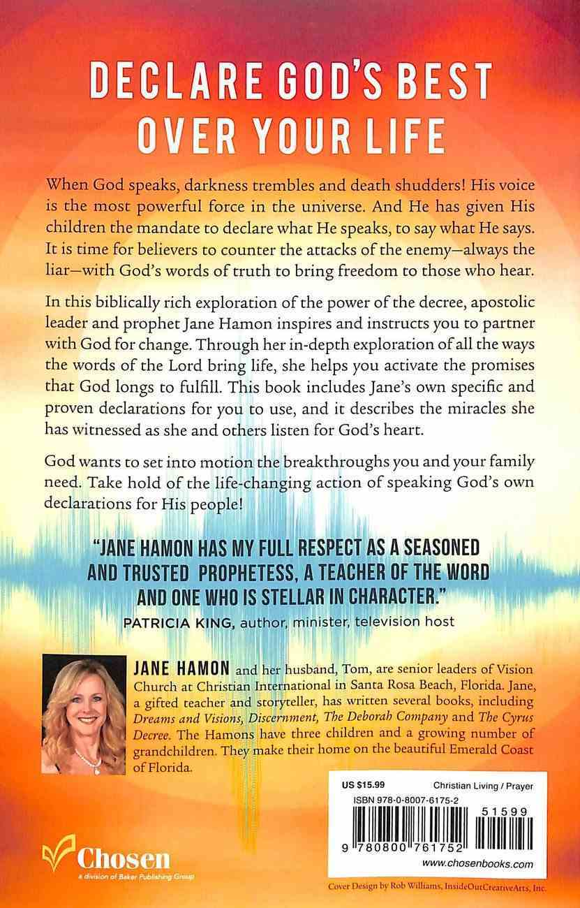 Declarations For Breakthrough: Agreeing With the Voice of God Paperback