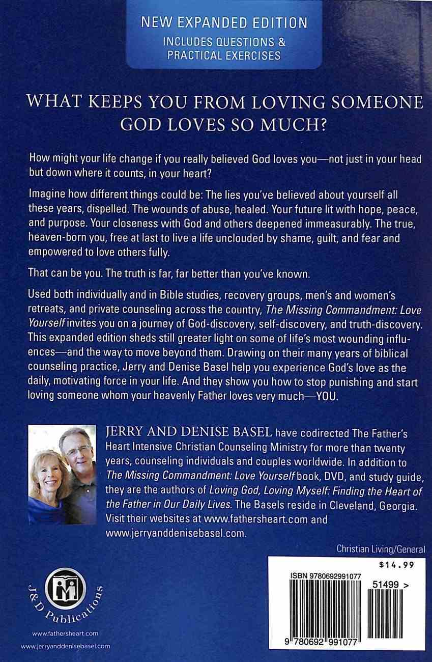 The Missing Commandment: Love Yourself Paperback