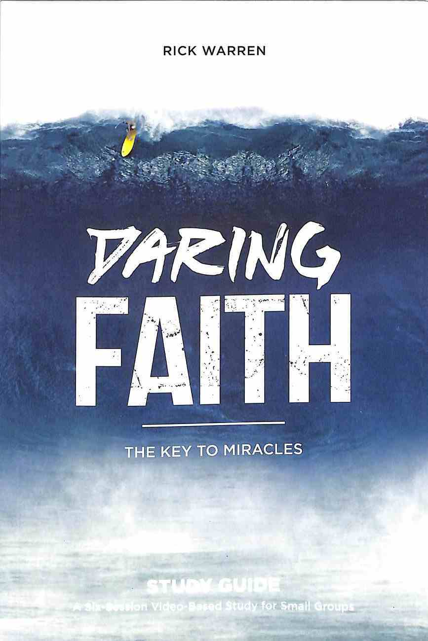 The Key to Miracles (Daring Faith Campaign Series) Paperback