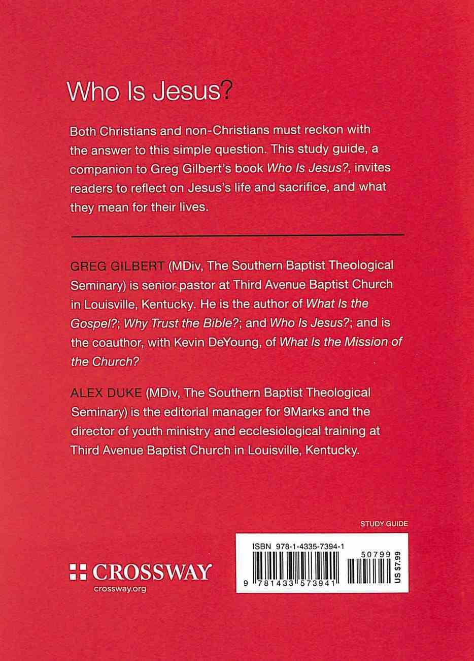 Who is Jesus? (Study Guide) (9marks Series) Paperback
