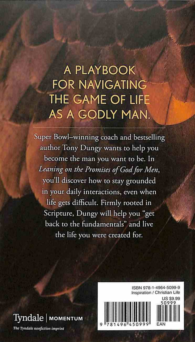 Leaning on the Promises of God For Men Paperback