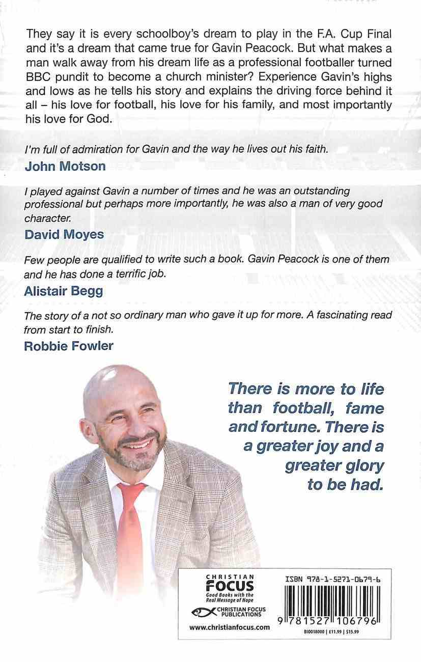 A Greater Glory: My Journey From the Pitch to the Pulpit Hardback