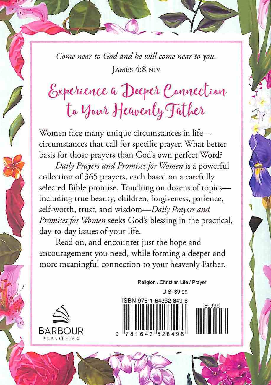 Daily Prayers and Promises For Women Paperback