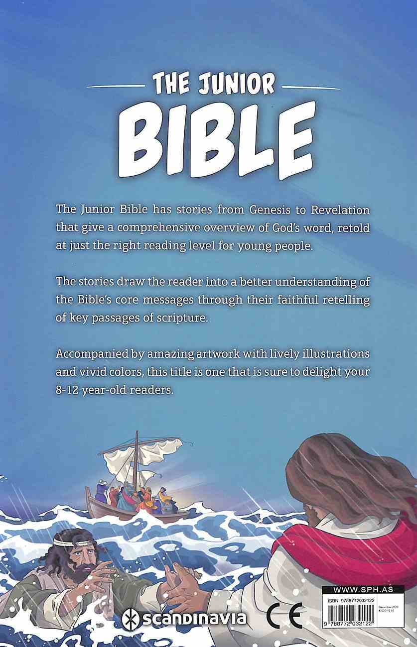 The Junior Bible: Illustrated and Retold For Young Readers Hardback