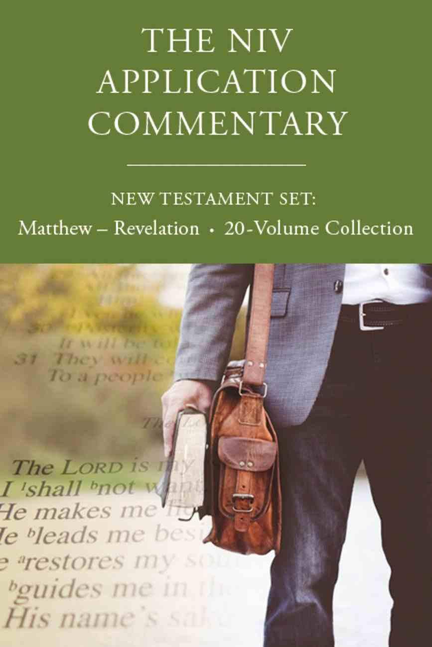 NIVAC NT: NIV Application Commentary New Testament Set (Complete 20 Volumes) Hardback