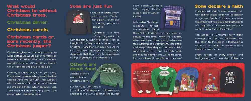 Christmas Jumpers Booklet