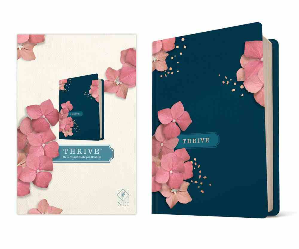 NLT Thrive Devotional Bible For Women Hardback