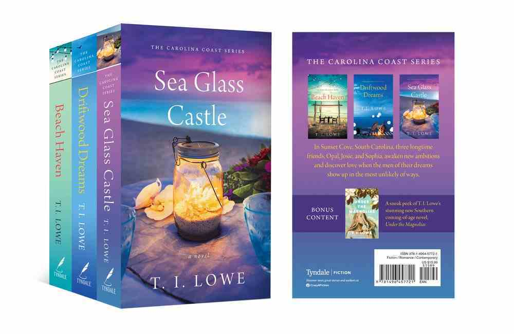 Carolina Coast Collection: The Beach Haven/Driftwood Dreams/Sea Glass Castle/Sampler of Under the Magnolias Pack