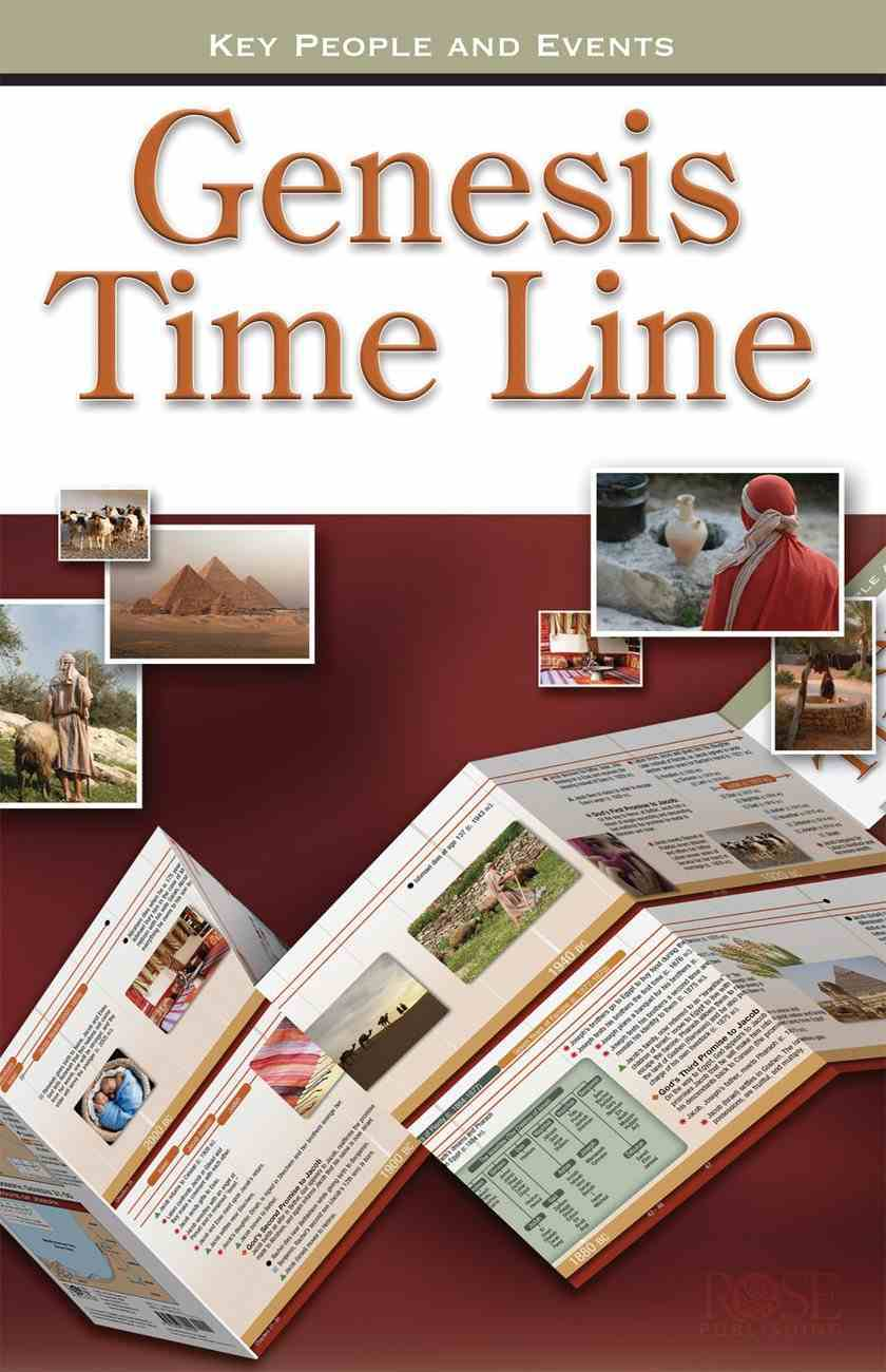 Genesis Time Line (Rose Guide Series) Pamphlet