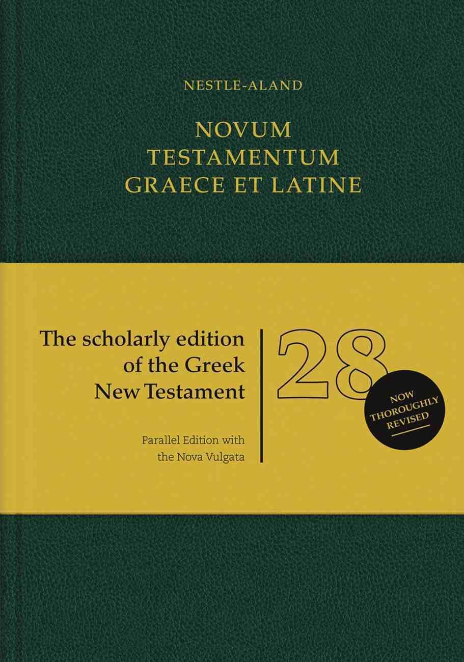 Novum Testamentum Graece Et Latine 28Th Edition (Na28) Hardback