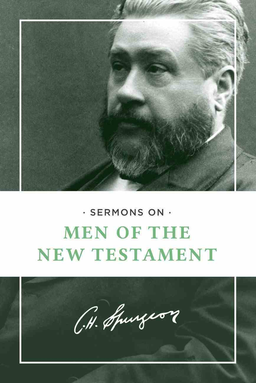 Sermons on Men of the New Testament Paperback