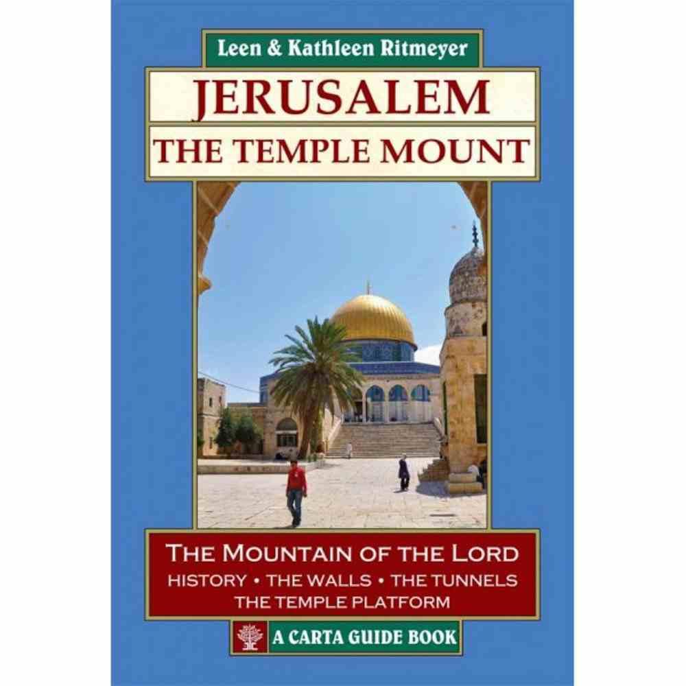 Carta Guide Book: Jerusalem - the Temple Mount Paperback