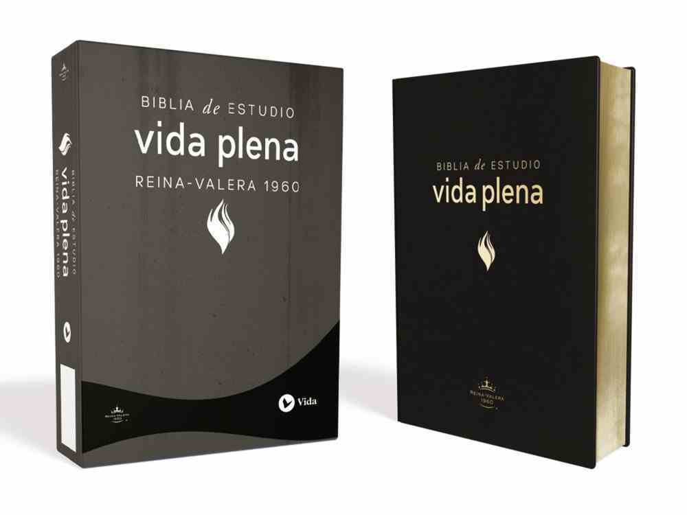 Rvr1960 Biblia De Estudio Vida Plena Black (Life In The Spirit Study Bible) Bonded Leather