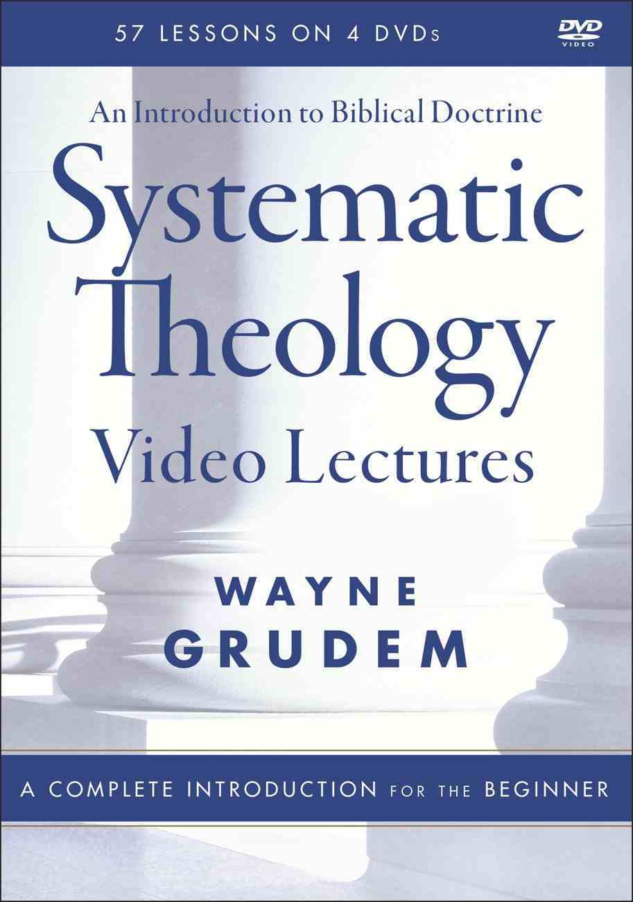 Systematic Theology: An Introduction to Biblical Doctrine (Video Lectures) DVD