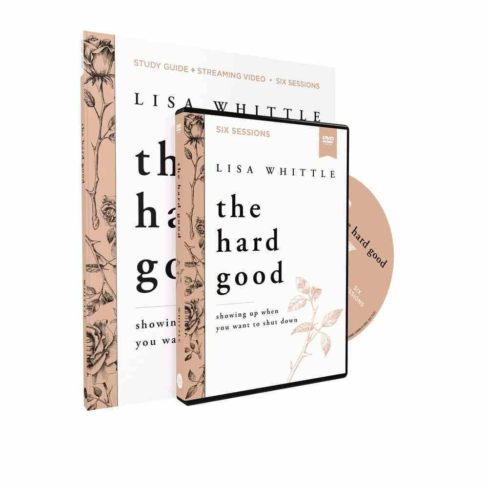 The Hard Good: Why Every Struggle Matters More Than You Know (Study Guide With Dvd) Paperback