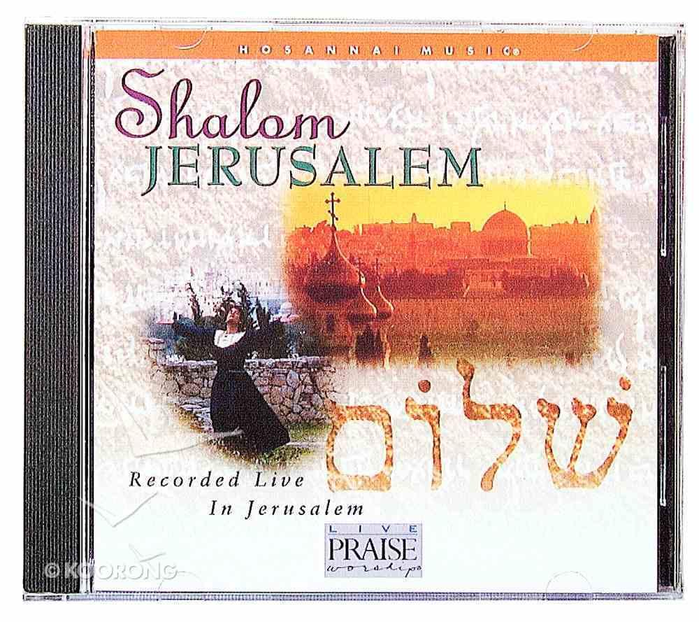 Shalom Jerusalem Live CD