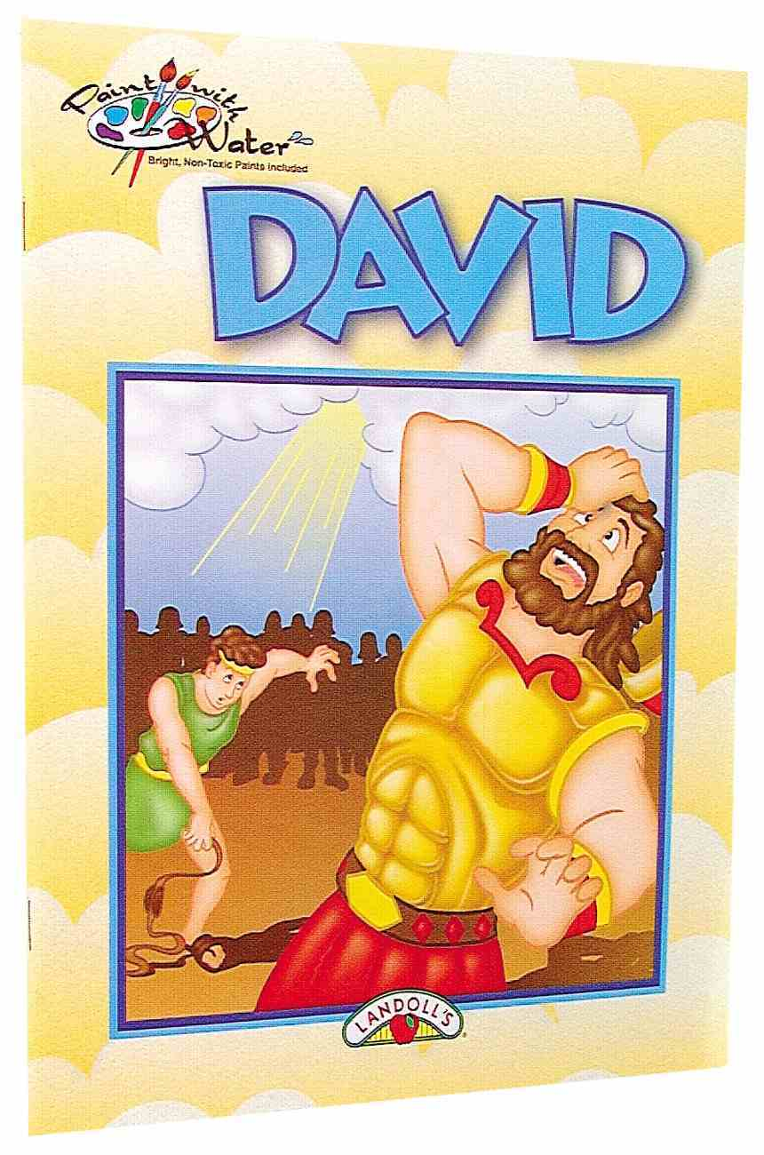 Paint With Water: David Paperback