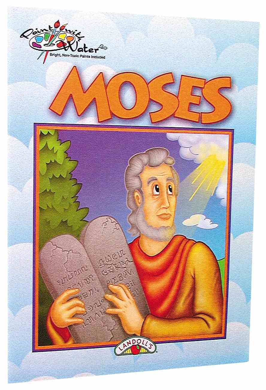 Paint With Water: Moses Paperback