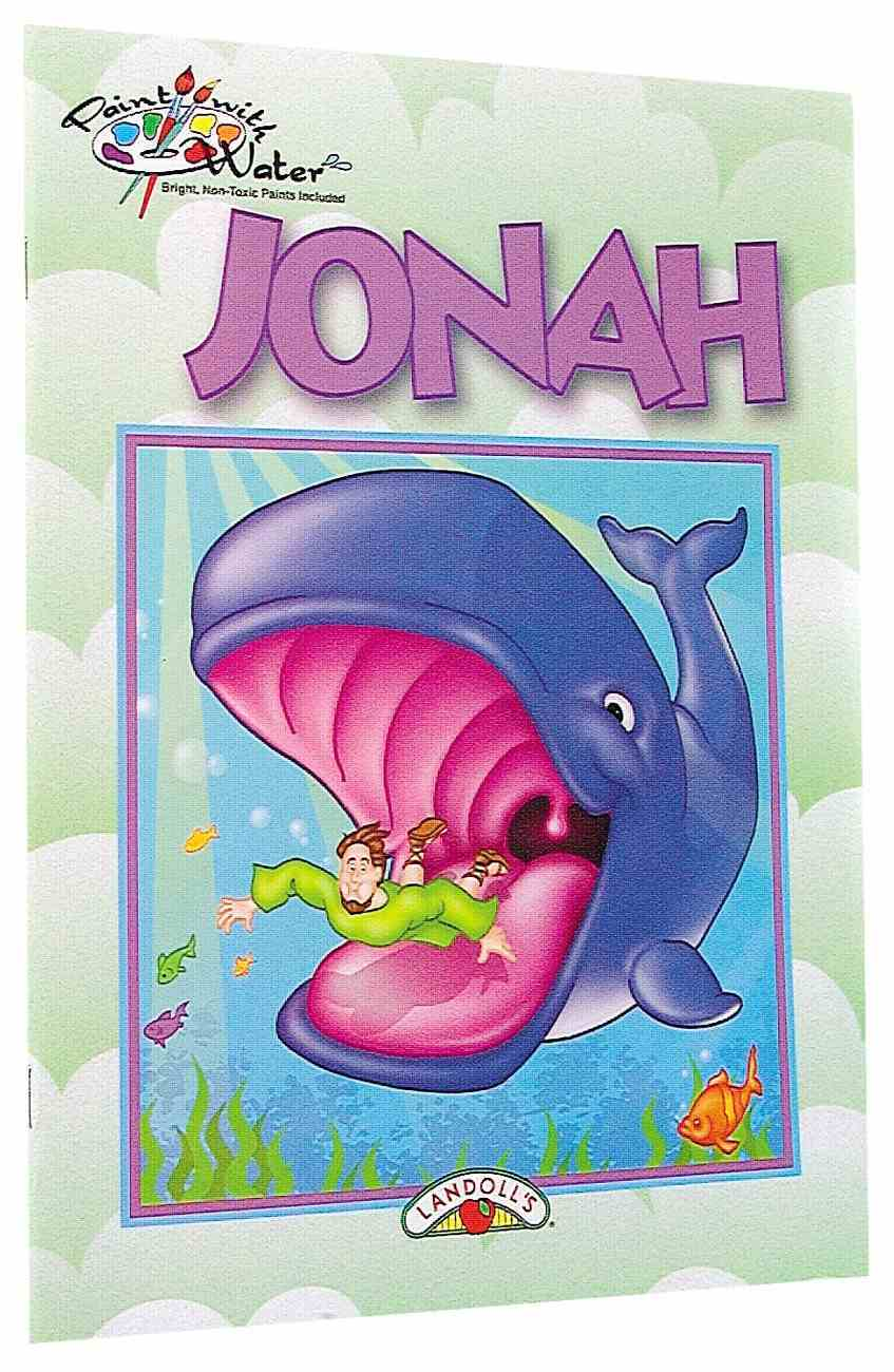 Paint With Water: Jonah Paperback