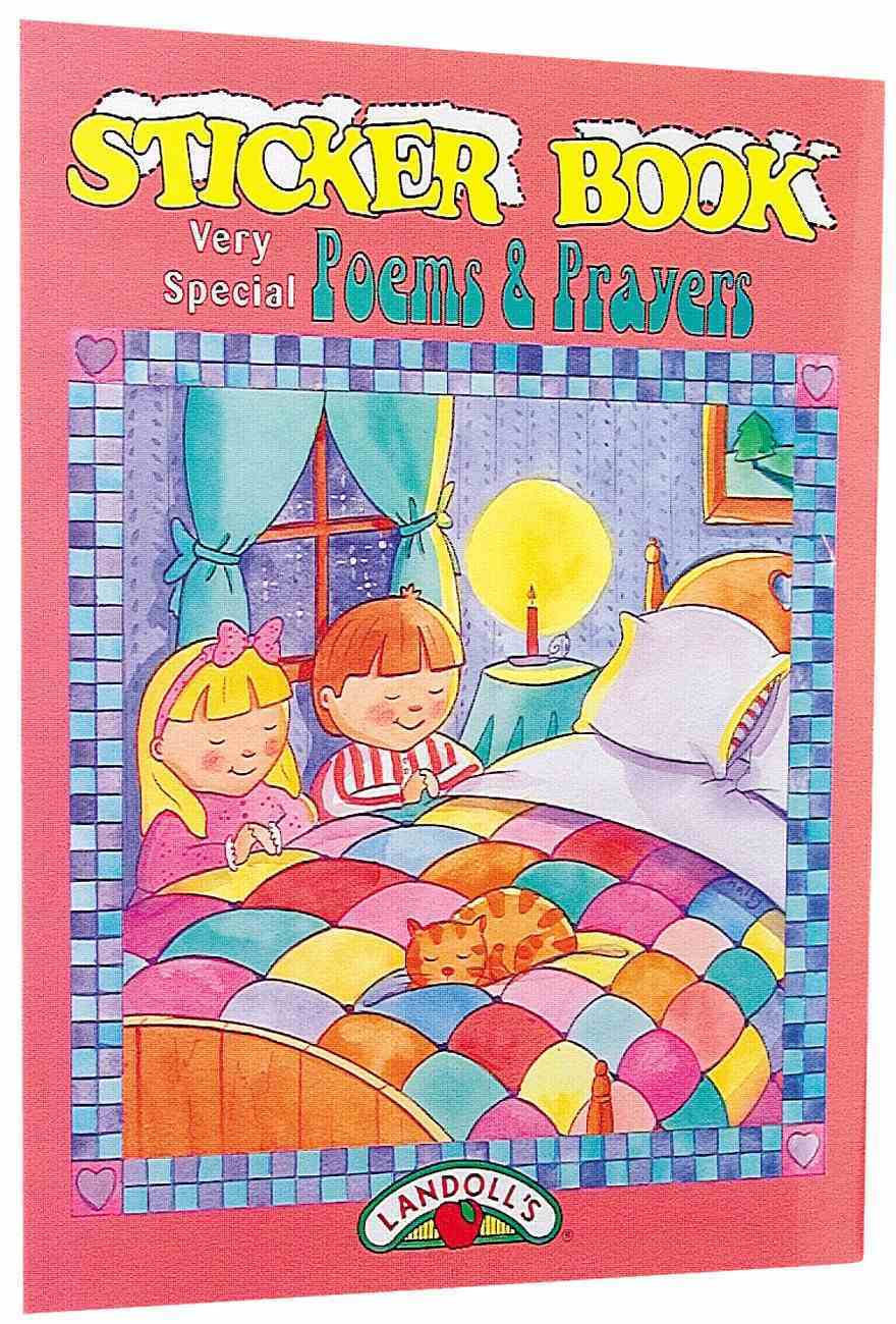 Sticker Book: Poems and Prayers Paperback