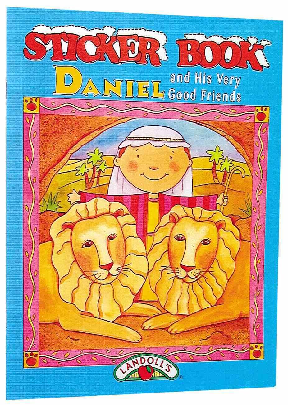 Sticker Book: Daniel Paperback