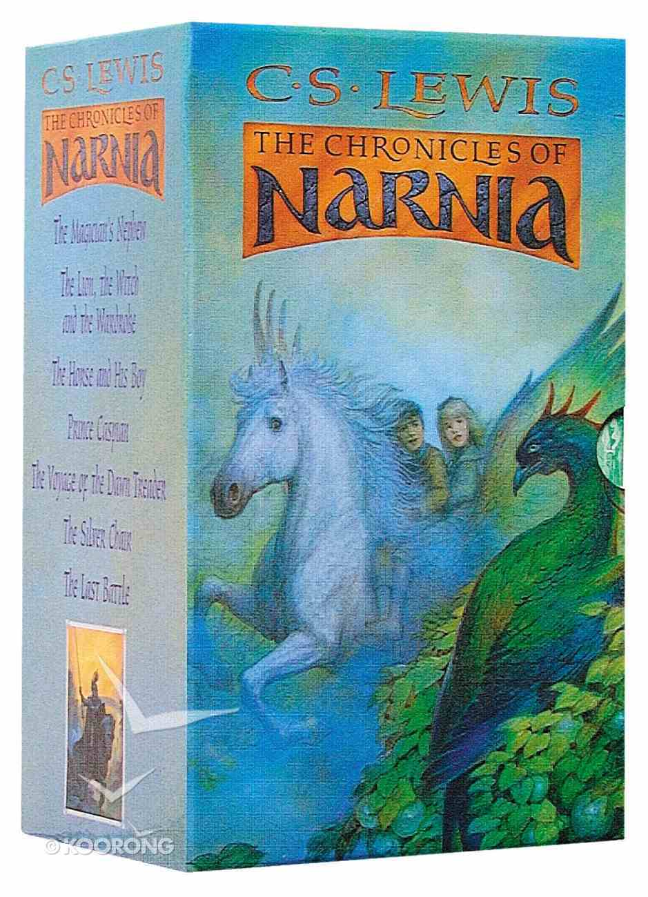 Chronicles of Narnia (7 Volume Set a Format) (Chronicles Of Narnia Series) Paperback