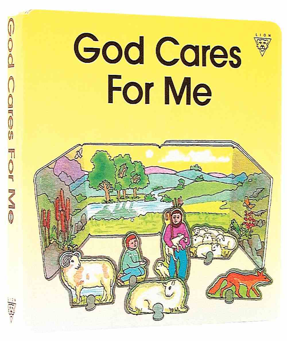 God Cares For Me (Concertina Board Books Series) Board Book