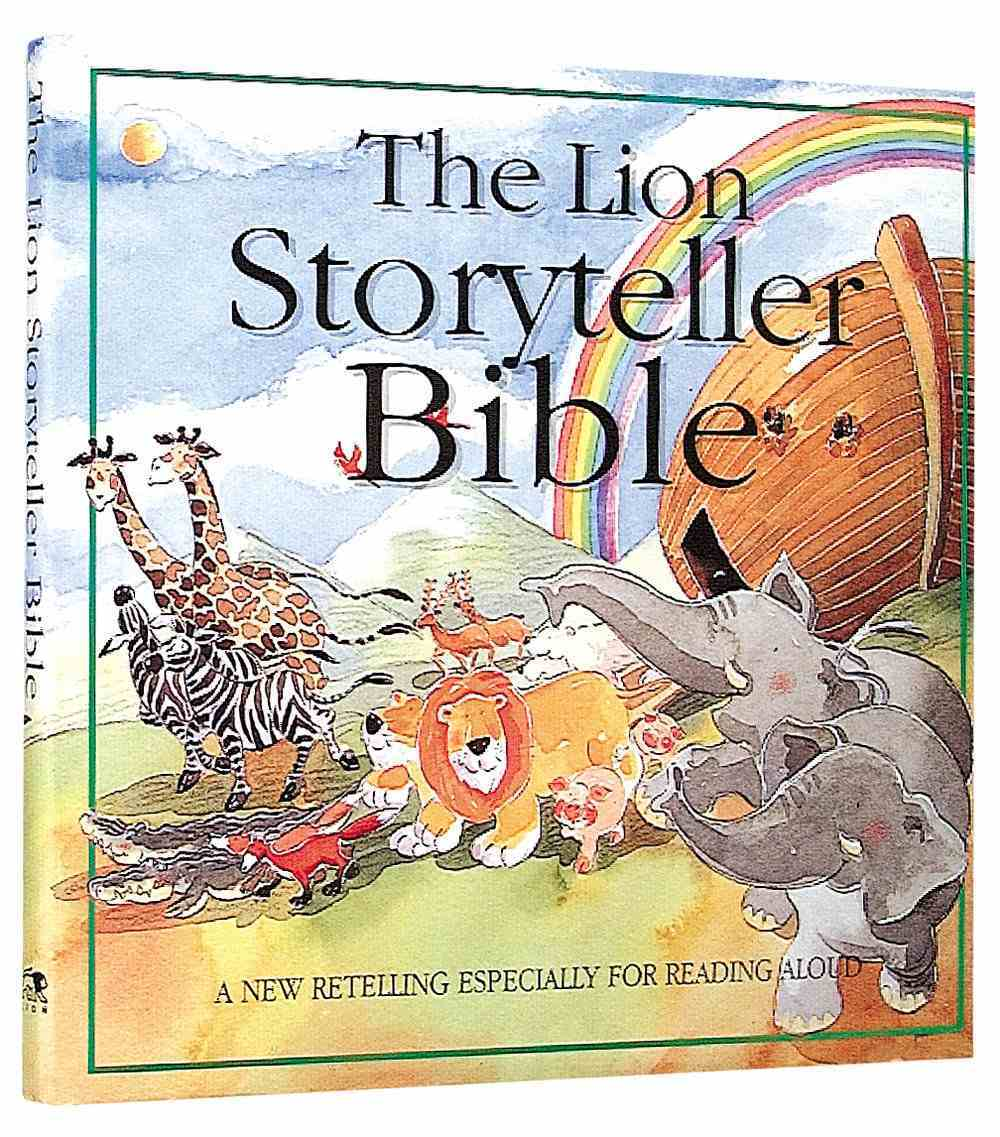 The Lion Storyteller Bible Hardback