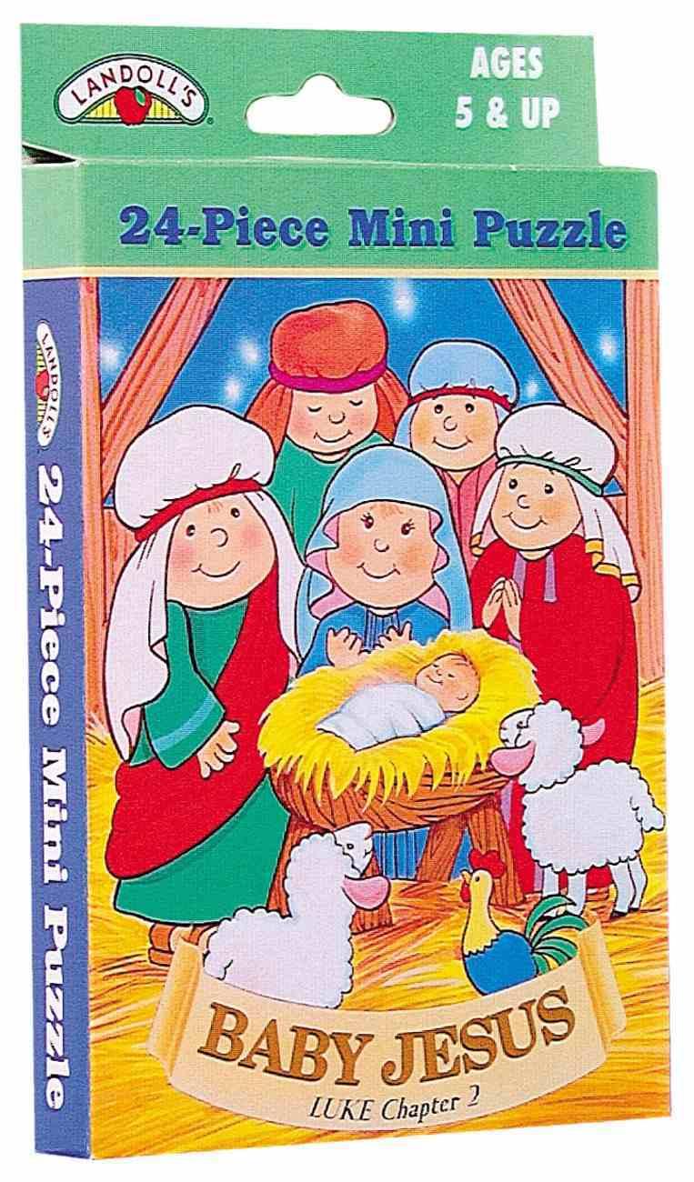 Bible Mini Puzzle Baby Jesus Game