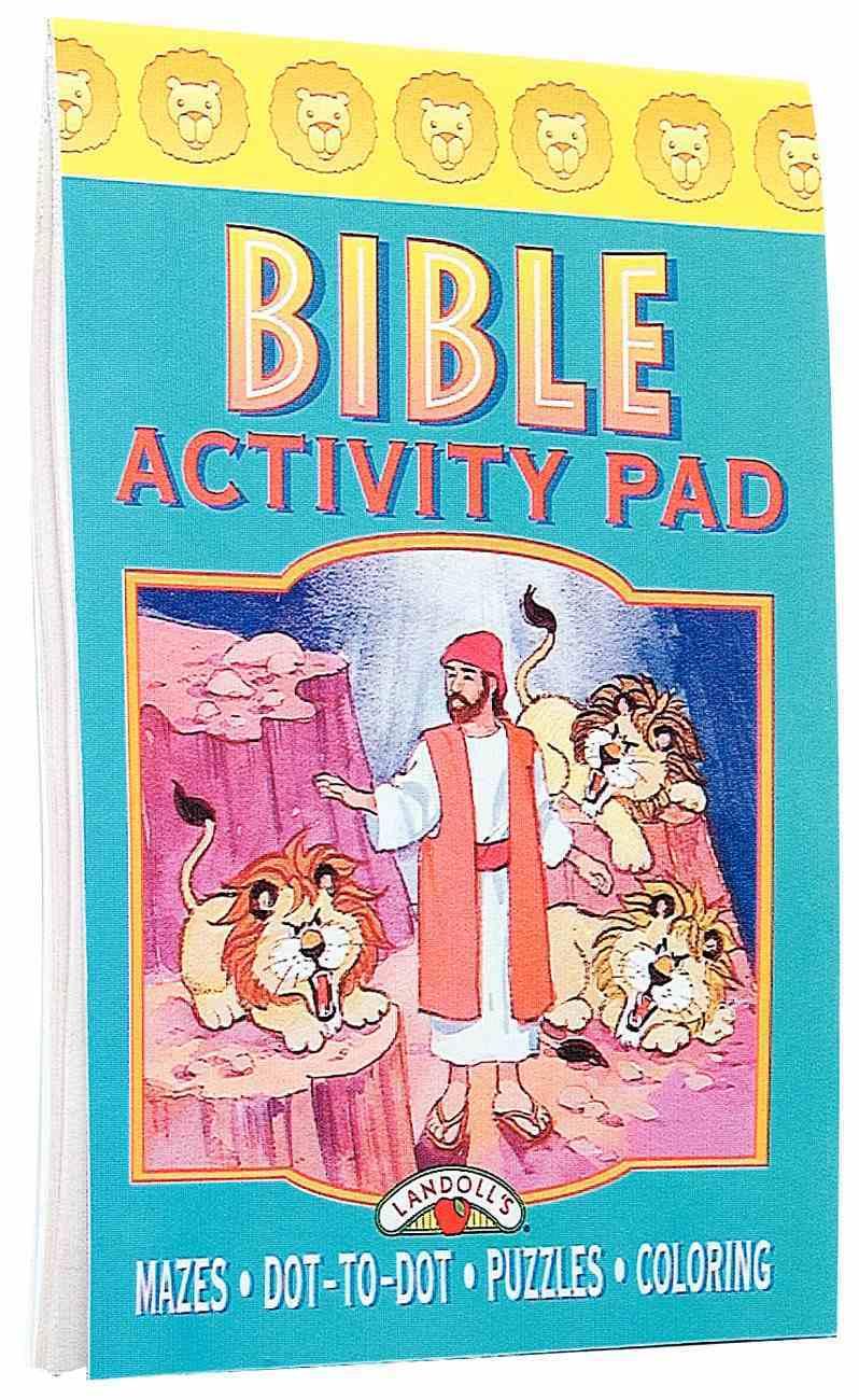 Bible Activity Pad Daniel Lions Den Paperback