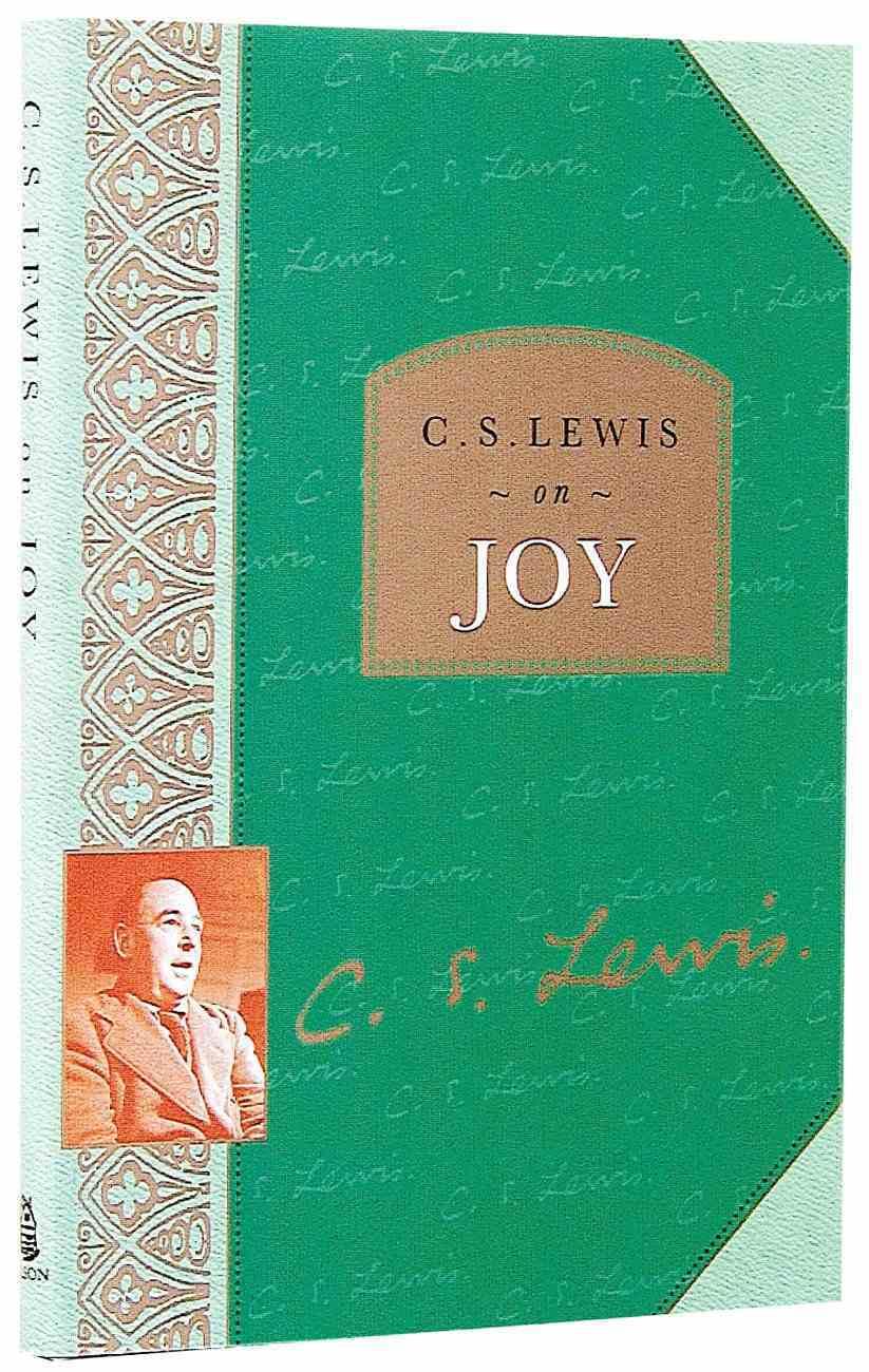 Lewis on Joy Hardback