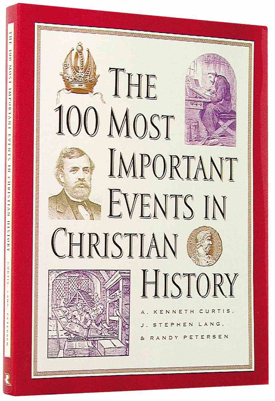 100 Most Important Events in Christian History Paperback