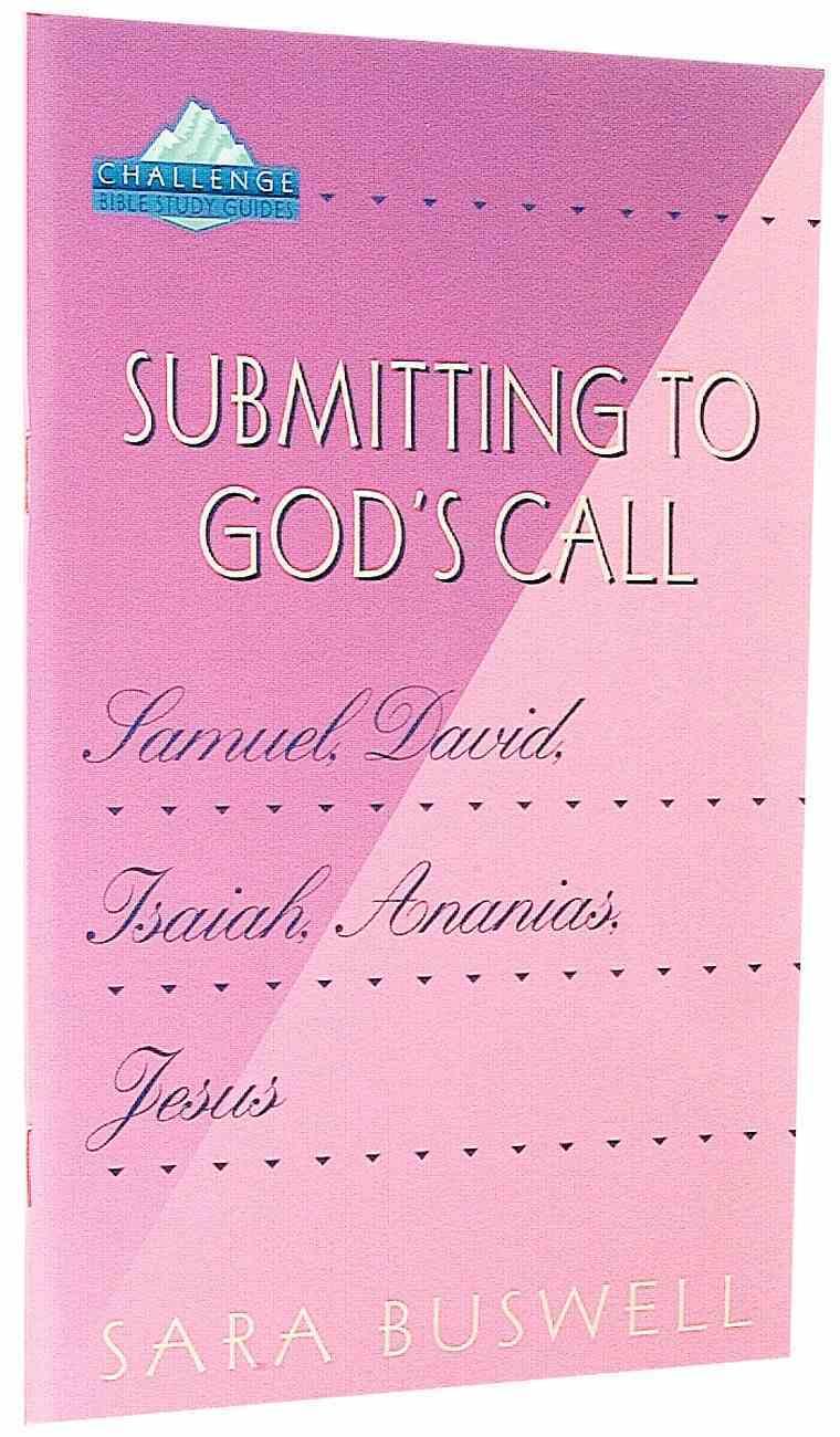 Submitting to God's Call Paperback