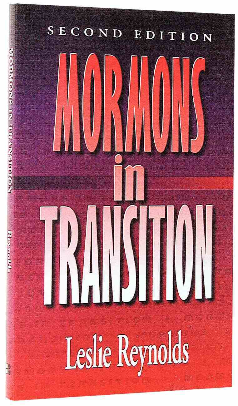 Mormons in Transition Paperback