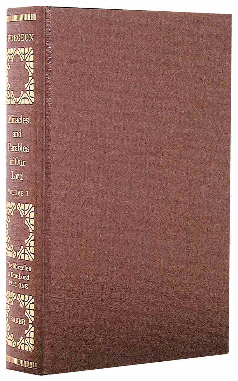 Miracles and Parables of Our Lord (3 Vol Set) Hardback