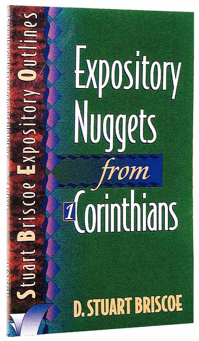 Sbeo Expository Nuggets From 1 Corinthians Paperback
